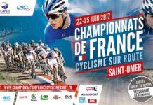 L'affiche officielle des championnats de France de cyclisme 2017