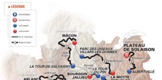 Le parcours du Critérium du Dauphiné 2017