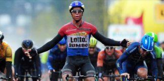 Dylan Groenewen remporte une nouvelle étape sur le Tour de Norvège 2017