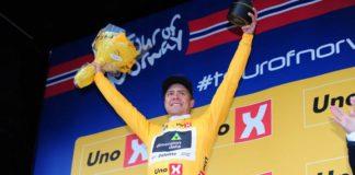 En remportant la dernière étape du Tour de Norvège, Edvald Boasson Hagen remporte le classement général du Tour de Norvège
