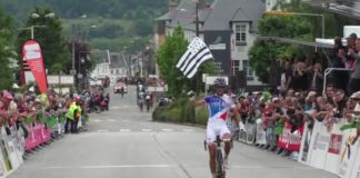 Eiking (FDJ) remporte les Boucles de l'Aulne 2017 étape de Coupe de France de cyclisme