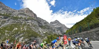 La liste des coureurs partants pour la 17e étape du Giro 2017