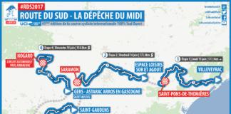 Le parcours de La Route du Sud 2017 avec la Movistar de Nairo Quintana