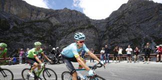 Luis Leon Sanchez a rendu hommage à Michele Scarponi en grimpant le Mortirolo en tête