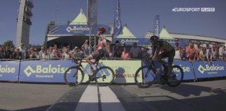 Mathieu van der poel s'impose sur le Tour de Belgique devant Philippe Gilbert