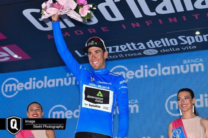 tour d 39 italie omar fraile endosse le maillot bleu de meilleur grimpeur. Black Bedroom Furniture Sets. Home Design Ideas