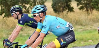 Paolo Tiralongo lors du Tour Down Under 2017