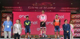 Podium final du Giro 2017