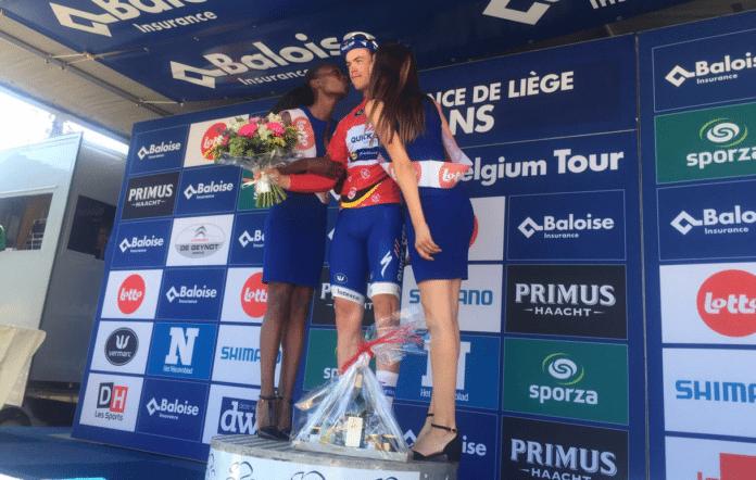 Rémi Cavagna leader du Tour de Belgique 2017 Baloise Belgium