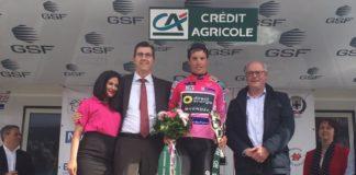 Sylvain Chavanel maillot rose des Quatre Jours de Dunkerque 2017