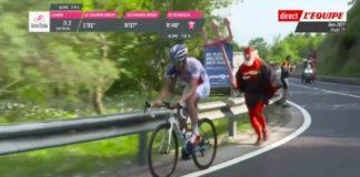 Thibaut Pinot va gagner le Giro d'Italia 2017 grâce à un coup de pouce du diable !