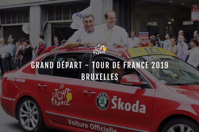 Le Tour de France 2019 s'élancera de Bruxelles en hommage à Eddy Merckx