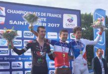 Championnat de France cycliste 2017, contre la montre élite messieurs. A la surprise générale, Pierre Latour (AG2R) a damé le pion aux