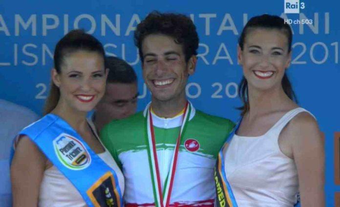 Championnat d'Italie de cyclisme 2017 remporté par Fabio Aru