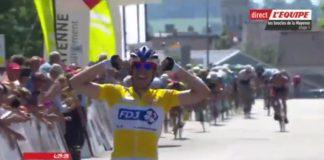 Johan Le Bon remporte la première étape des Boucles de la Mayenne 2017