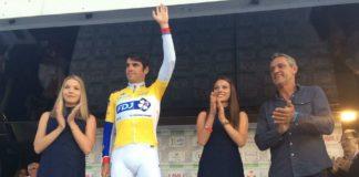 Johan Le Bon maillot jaune des Boucles de la Mayenne 2017