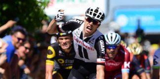 Phiil Bauhaus surprend les français et s'impose sur la 5e étape du Critérium du Dauphiné