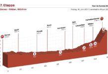 Tour de Suisse 2017 : Présentation de la septieme étape (profil, parcours, vidéo, programme TV). Cette arrivée à Solden promet d'être
