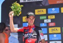 Richie Porte (BMC) termine second de ce Critérium du Dauphiné 2017.