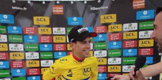 Riche Porte nouveau leader du Critérium du Dauphiné 2017