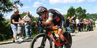 Richie Porte remporte le contre la montre du Critérium du Dauphiné 2017. Thomas De Gendt conserve son maillot jaune de leader