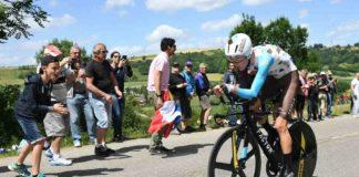 Romain Bardet termine loin des autres favoris sur le chrono du Critérium du Dauphiné 2017