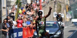 Julien Loubet s'est offert une superbe victoire au terme de la première étape de la Route du Sud 2017. Le coureur de l'Armée de Terre a