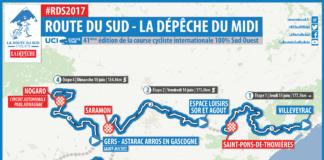 Présentation de la Route du Sud 2017 : profil des étapes, équipes engagées, programme TV, startlist, parcours, favoris...
