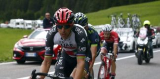 Rui Costa au départ du Tour de Suisse 2017