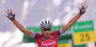 Simon Spilak (Katusha Alpecin) remporte la èème étape du Tour de Suisse 2017 et devient leader au général