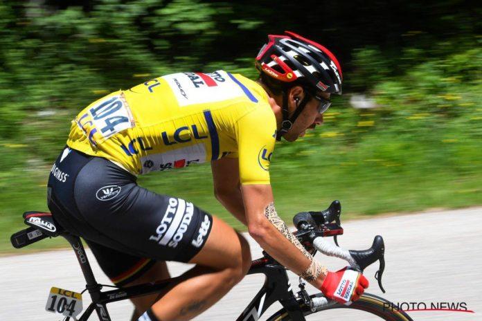 Thomas De Gendt (Lotto-Soudal) blessé au poignet mais présent au Tour de France