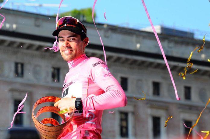 Tom Dumoulin vainqueur du Giro 2017