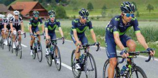 Tour de France 2017 composition de l'équipe Valverde Quintana