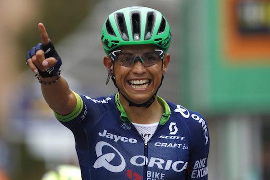Mitchelton-Scott compte sur Esteban Chaves pour le Giro et la Vuelta
