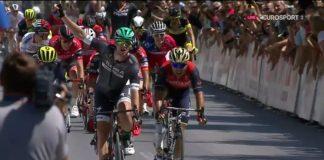 La victoire de première étape du Tour de Slovénie 2017 s'est disputée au sprint. L'Irlandais Sam Bennett(Bora-Hansgrohe) y a imposé sa