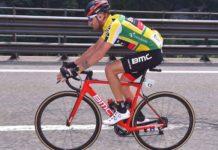 Deuxième du classement général du Tour de Suisse 2017, l'Italien Damiano Caruso (BMC Racing) était plus que satisfait de sa