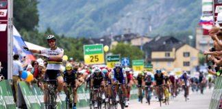 La cinquième étape du Tour de Suisse 2017 a vu la victoire au sprint de Peter Sagan. Le Slovaque de Bora-Hansgrohe a facilement