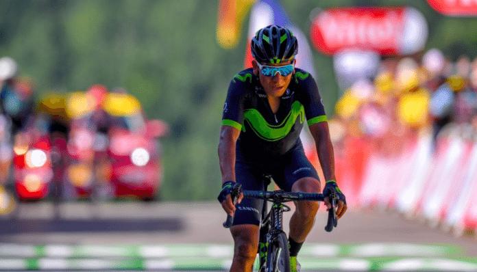 Nairo Quintana tourné sur le TDF 2019