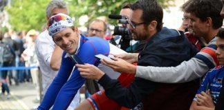 Arnaud Démare (FDJ) second de l'étape du jour se veut rassuré pour la suite du Tour de France