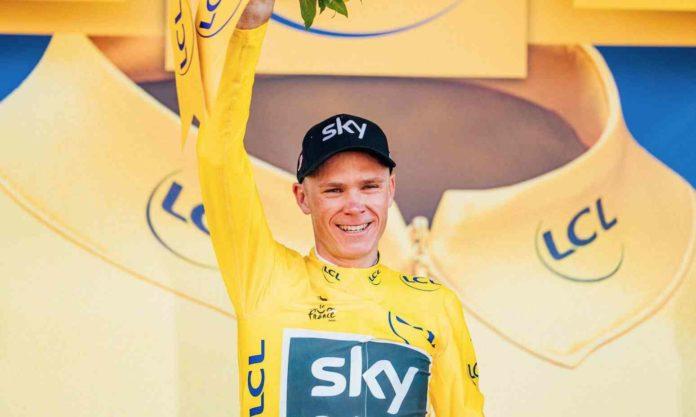Christopher Froome à nouveau maillot jaune du Tour de France