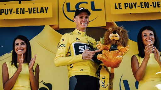 Chris Froome reste leader du Tour de France 2017