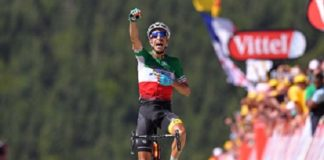 Fabio Aru (Astana) remporte la 5ème étape du Tour de France 2017