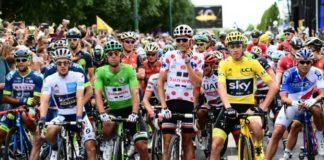 Le Tour de France met en avant les vainqueurs des classements distinctifs.