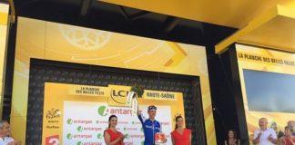 Philippe Gilbert combatif du jour lors de la 5ème étape du Tour de France 2017