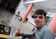 Romain Bardet dans la compo AG2R La Mondiale en Andalousie