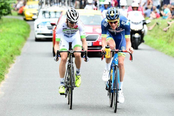 Yoann Offredo est l'un des grands animateurs des étapes de plaine du Tour de France 2017. Le Français de Wanty Groupe Gobert n'en est