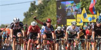 Tour de Pologne 2017, 2e étape. L'épreuve World Tour a de nouveau sacré un sprinteur, et c'est Sacha Modolo (UAE) et Danny Van Poppel