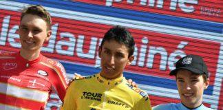Bernal remporte le Tour de l'Avenir 2017 podium