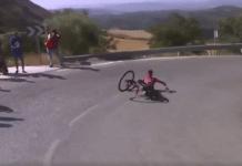 Sur la Vuelta 2017, Christopher Froome a une adversaire de taille, la chute !