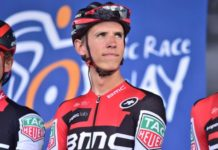 Dylan Teuns leader de l'Arctic Race of Norway